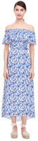 Rebecca Taylor Off-The-Shoulder Aimee Dress