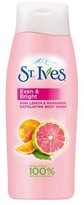 St. Ives Even and Bright Pink Lemon and Mandarin Orange Body Wash 24oz