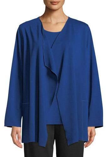 Caroline Rose Ponte Luxe Saturday Jacket w/ Pockets