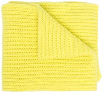 Pringle Scottish cashmere ribbed scarf