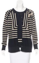Rena Lange Embellished Cardigan Set