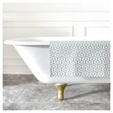 "DENY Designs Caroline Okun Icicle Mini Bath Rug Blue (2""x3"")"