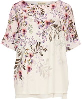 Phase Eight Lillianna Blossom Ombre Floral Print Top