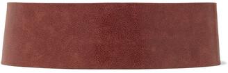 Brunello Cucinelli Cracked-leather Waist Belt