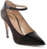Giorgio Armani Pointed Toe Ankle Strap Stiletto Pump