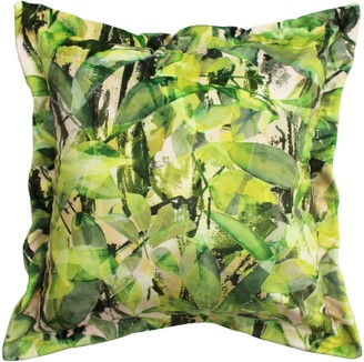 Emily Laura Designs Leaves Velvet Cushion