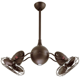 Jerry Rotational Ceiling Fan with Light Kit