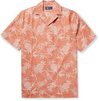 Reyn Spooner Camp-Collar Printed Cotton-Blend Shirt
