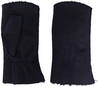 Holland & Holland Leather Mittens