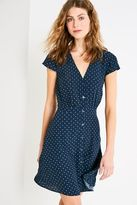 Jack Wills Daisybank Floral Button Dress