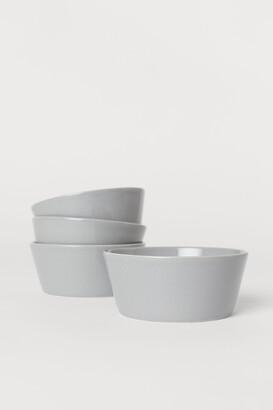 H&M 4-pack Ceramic Bowls