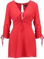 Topshop Petite Summer dress red