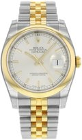 Rolex Datejust 116203 SSJ Steel & 18K Yellow Gold Automatic Men's Watch