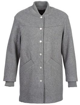 Eleven Paris PARC women's Coat in Grey