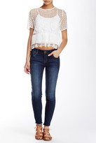 Jolt Frayed Ankle Jean