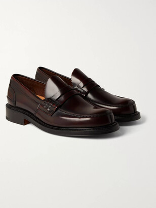 Church's Willenhall Bookbinder Fume Leather Penny Loafers