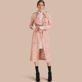 Burberry Macramé Lace Trench Coat