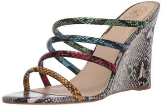 GUESS Women's gwFRANY Heeled Sandal