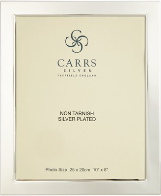 Carrs of Sheffield Silver Plated Flat Fronted Photo Frame