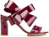 DELPOZO bow strappy sandals
