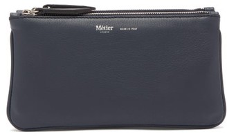 Métier Metier - Small Things Trio Leather Pouch - Grey