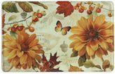 """Bacova Fall In Love"""" 23-Inch x 36-Inch Memory Foam Kitchen Mat in Orange"""