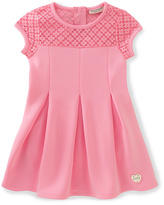 Juicy Couture Pink Floral-Yoke Skater Dress - Infant Toddler & Girls