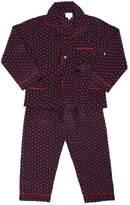 Handmade Printed Silk Pajama Set