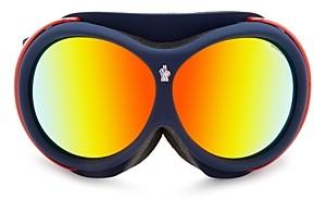 Moncler Men's Mirrored Ski Goggles