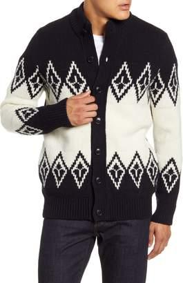 Barbour Snowden Fair Isle Sweater Cardigan