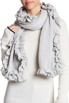 Collection XIIX Ruffle Trim Wrap Scarf