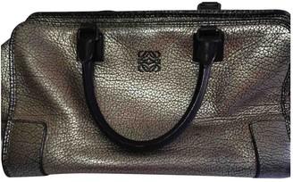 Loewe Amazona Metallic Leather Travel bags