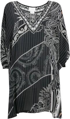 Camilla Tale of the Firebird silk dress