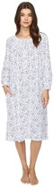Eileen West Long Sleeve Waltz Nightgown