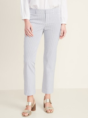 Old Navy All-New Mid-Rise Pixie Straight-Leg Ankle Pants for Women