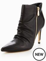 Moda In Pelle Lazaro Side Zip Heeled Ankle Boot