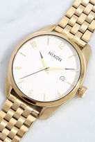 Nixon Bullet Gold and White Watch