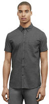 Kenneth Cole Short-Sleeve Button Front Shirt