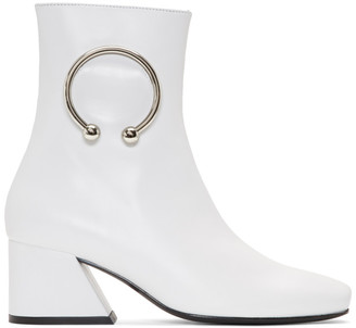 Dorateymur White Nizip Re-Edition Boots