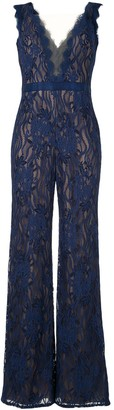 Tadashi Shoji Lace Jumpsuit All-In-One