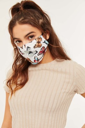 Ardene Reusable Butterfly Print Face Covering