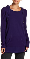 Andrew Marc Long Sleeve Hooded Tunic
