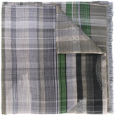 Etro plaid scarf - men - Cotton/Modal/Viscose - One Size