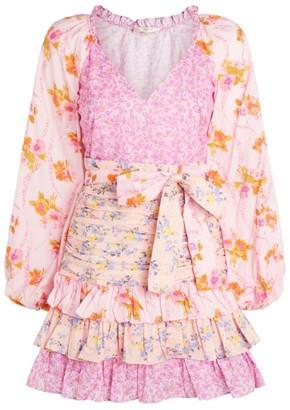 LoveShackFancy Rina Mini Dress