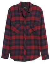Rails Rex Studded Plaid Shirt
