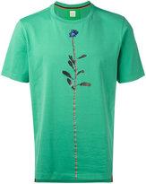 Paul Smith flower detail T-shirt - men - Cotton - S