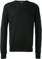 Alexander McQueen crew neck sweater - men - Cashmere - S