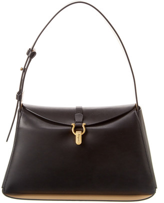 Salvatore Ferragamo Gancini Medium Leather Shoulder Bag
