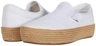 Vans Slip-On Platform ESP SF ((Linen) True White) Shoes