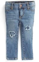 Joe's Jeans Infant Girl's 'Insert Patch' Denim Leggings